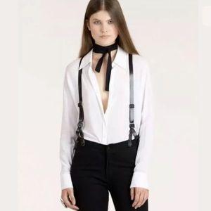 Courtshop James High Skinny suspenders Jeans 26